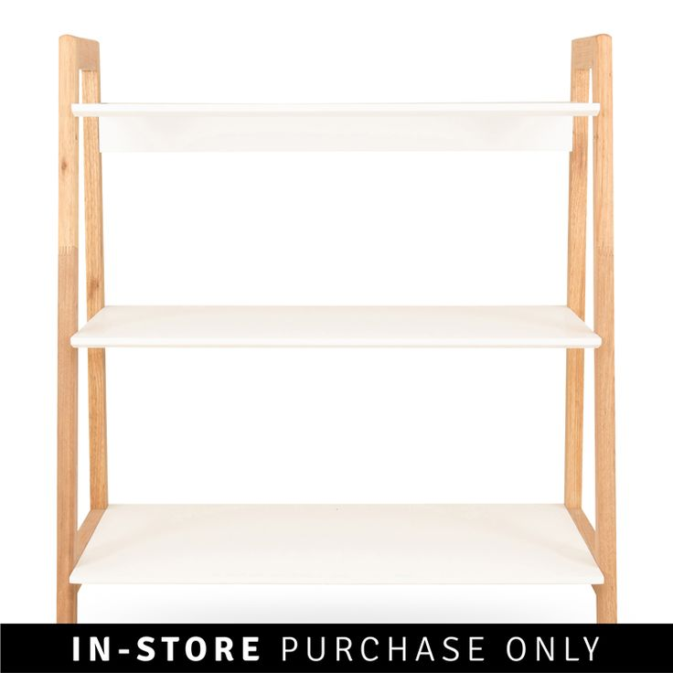 alto 3 level bookshelf  H90 X W80 X D50cm  R 2299