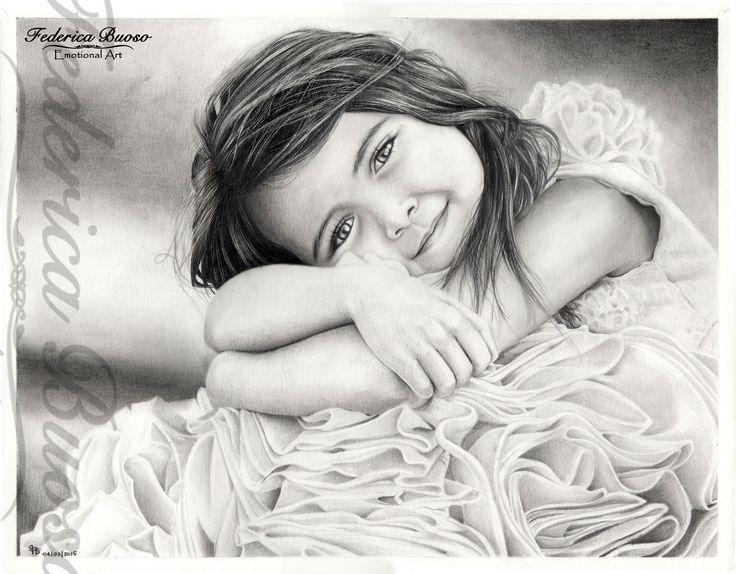 """""""La bellezza del mondo in uno sguardo"""" - matita su cartoncino Fabriano Watercolour - 28 x 35,6  tratto da """"ljHolloway-photography"""""""