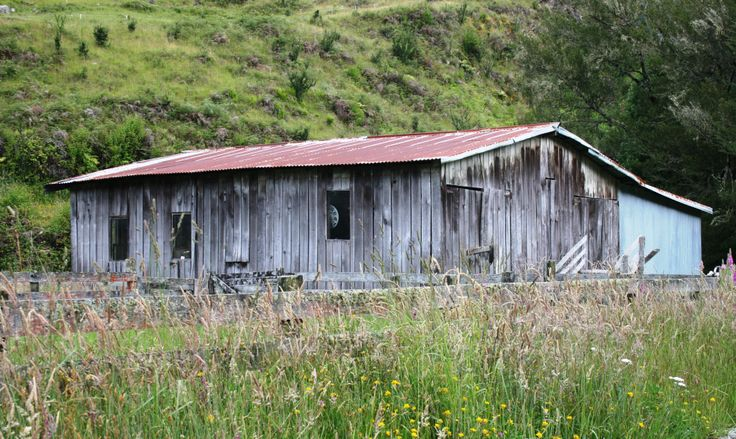 Wool shed in Murchison New Zealand. www.cosytoes.co.nz