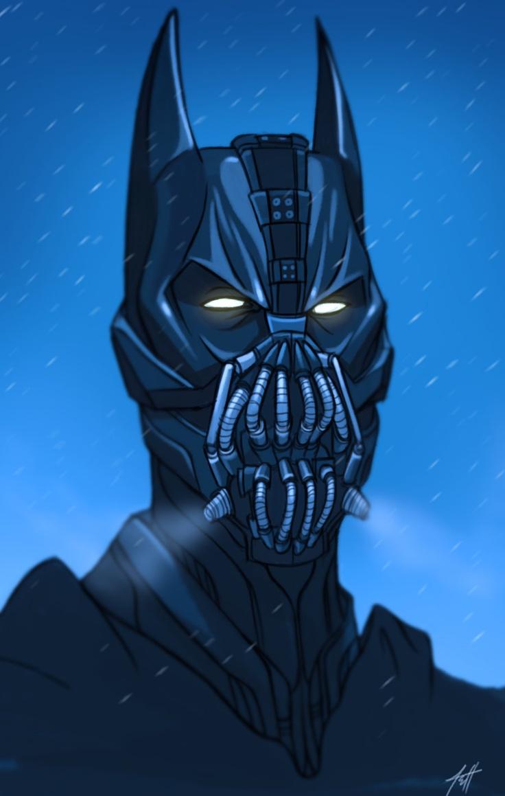 7 best batman images on Pinterest | Bane mask, Dark knight and ...