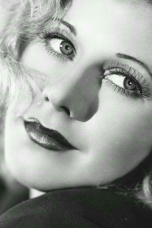 Ginger Rogers, beautiful close-up of her