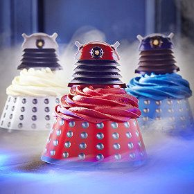 Dalek-Cupcake-Wraps-and-Toppers from Lakeland
