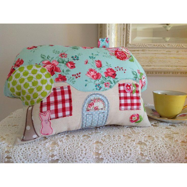 $40.00 Fairytale mini cottage cushion by TotsOfToday on Handmade Australia