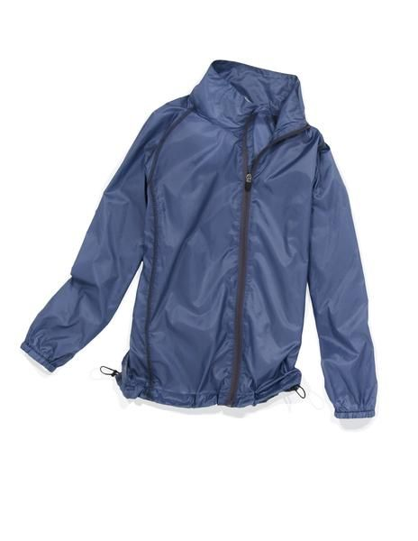 """This wind and water resistant, packable jacket is perfect to slip into your kid's golf bag for those days when the weather is """"iffy"""" out on the golf course. The jacket packs into it's back zipper pocket to form a small packable square. He will thank you later when it starts to rain and he can keep playing!"""