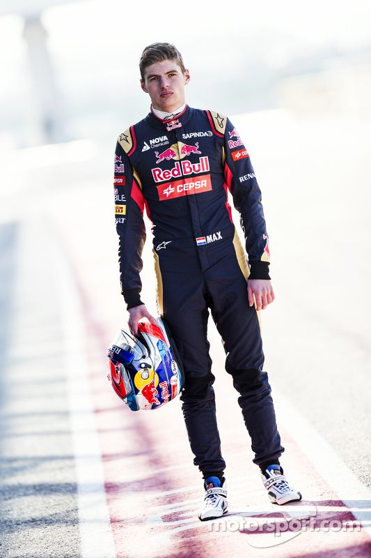 Max Verstappen, Scuderia Toro Rosso. So cute!! Love him and his racing style!