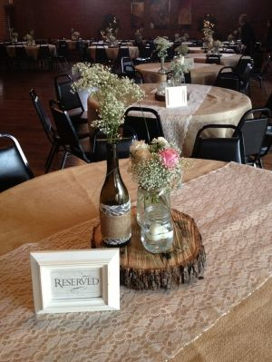 Rustic wedding by joanne