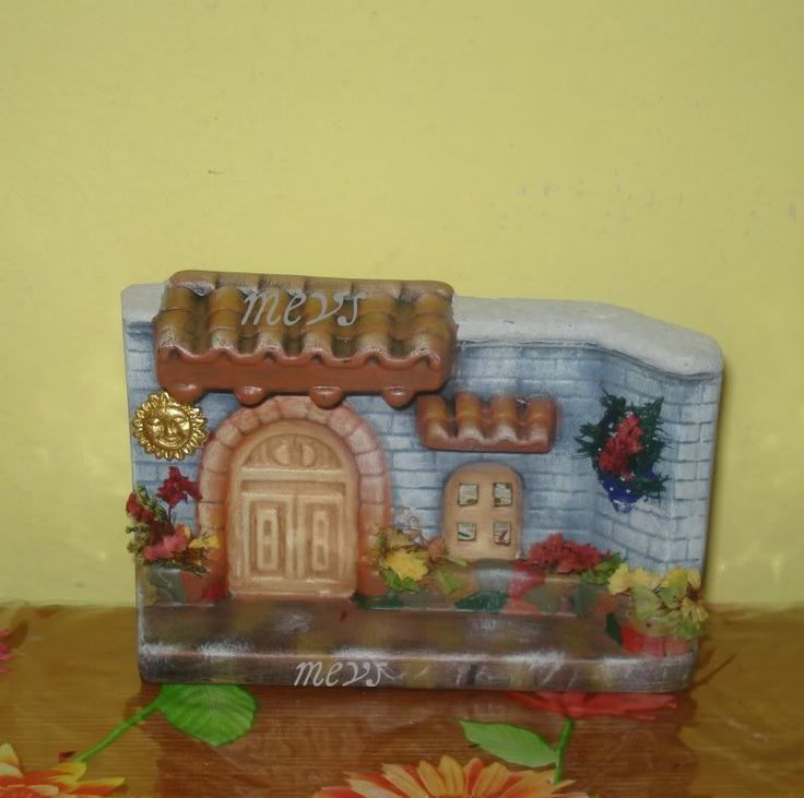 Mis artesanias ceramica chsvelyceramicas pinterest - Ceramica para fachadas casas ...