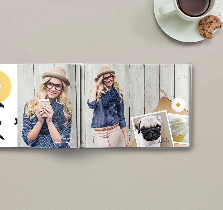 Een must-have voor elke mode-freak: een fotoboek met je eigen kleding of fotoshoots. #fotoboek