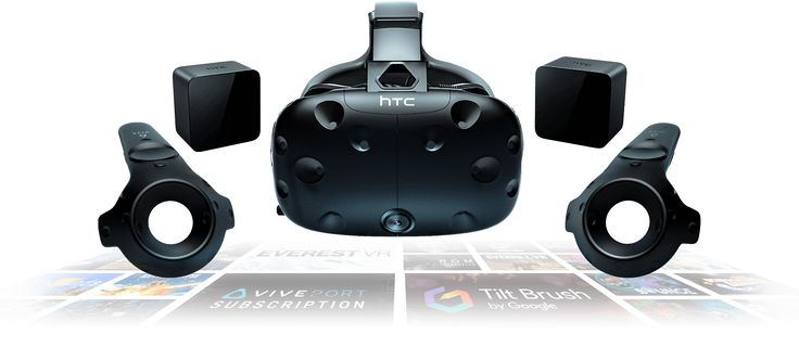 HTC VIVE VR System, what I'm building my computer around. $599