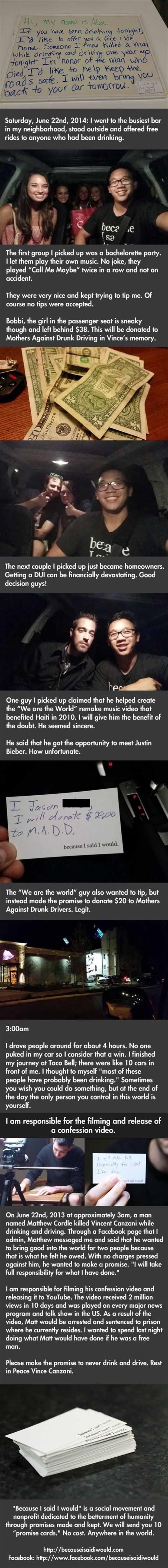 My faith in humanity has been restored a little more - Imgur