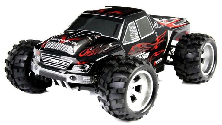 WL Toys A979 1:18 Scale 4WD Electric RC Truck 2.4GHz RTR