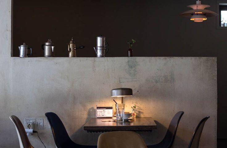 Coffee Lab  in Hongdae, Seoul review interior