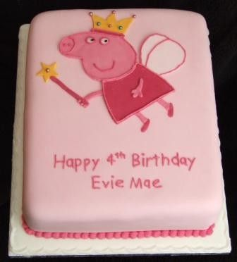 Yet another Peppa cake idea