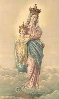 As festas Marianas do mes de Agosto - Alegra-te Maria