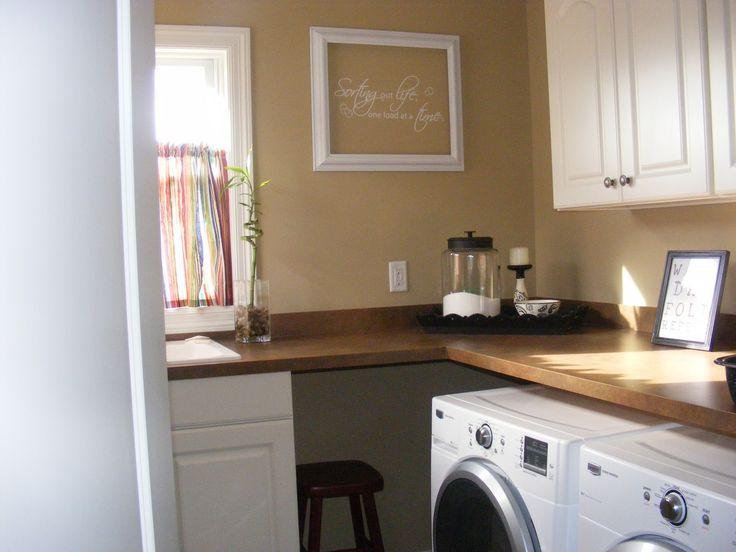 Combining Kitchen With Laundry Room | ... Laundry Room Designing Ideas  Which Is Combined