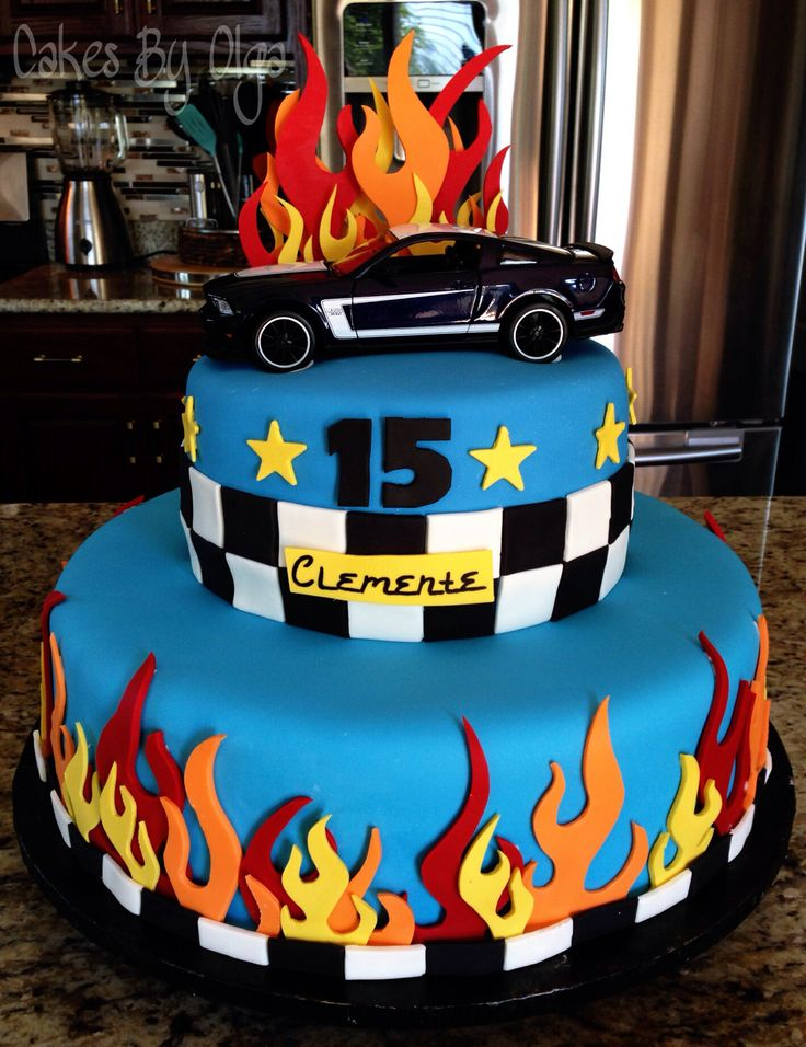 Mustang cake by Cakes By Olga