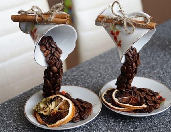 Как сделать парящую чашку в подарок? Фото с сайта http://www.livemaster.ru