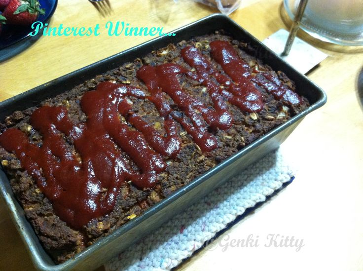 Tofu Meatloaf Vegan Recipe