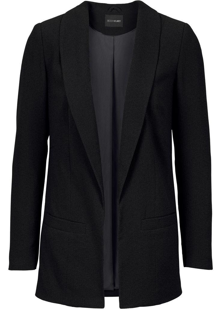 Blazer schwarz - BODYFLIRT jetzt im Online Shop von bonprix.de ab € 39,99 bestellen. Femininer Blazer der Marke BODYFLIRT. Durch seinen lockeren Sitz und ...