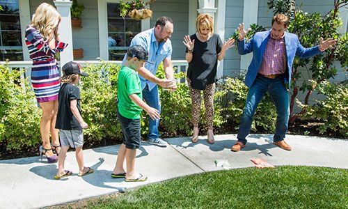 Home  Family - Tips  Products - DIY Exploding Chalk Paint with Matt Rogers | Hallmark Channel
