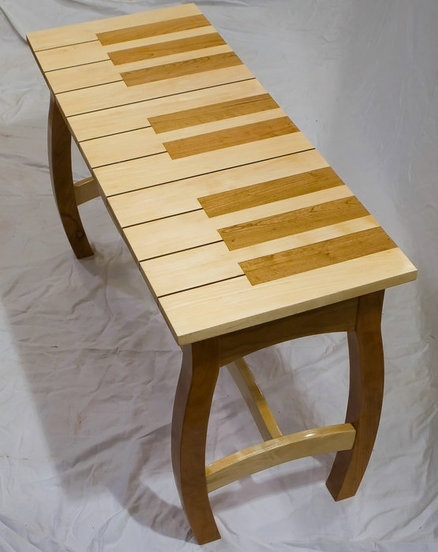 Piano bench!