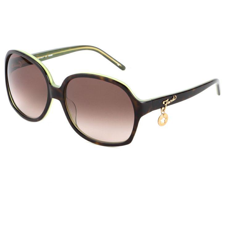 Fendi FS-5136 Sunglasses-Havana green