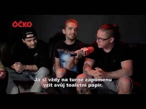 ÓČKO.tv | Tokio Hotel Interview (short version) – ♡ louder than love ♡