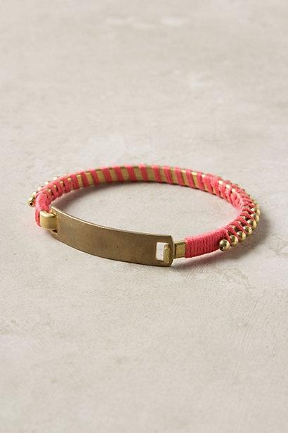 Nouveau ID Bracelet #anthropologie