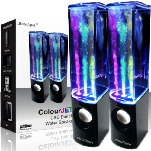 iBoutique ColourJets USB Dancing Water Speakers for PC/Mac/MP3 Players/Mobile Phones/Tablets - Jet Black, http://www.amazon.co.uk/dp/B00FJAMAKY/ref=cm_sw_r_pi_awd_bpUPsb1CMVTSN