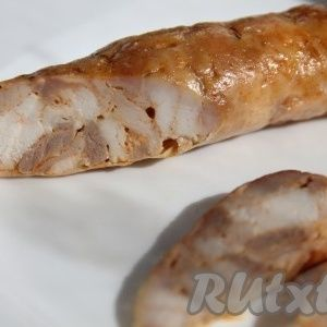 Домашняя колбаса из кури…