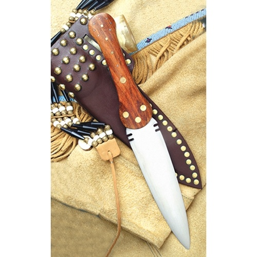 North American Indian Beaver Tail Dag by Windlass Steelcrafts