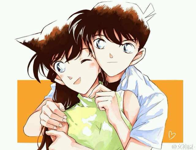 Detective Conan Shinichi and Ran