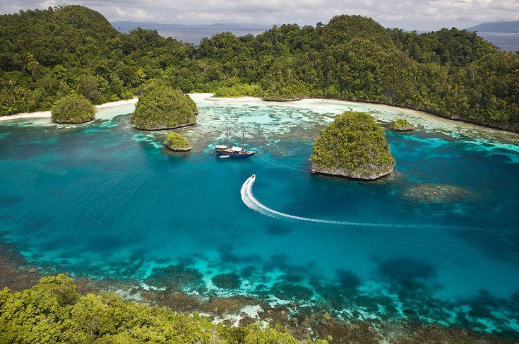Marine Lakes of Indonesia