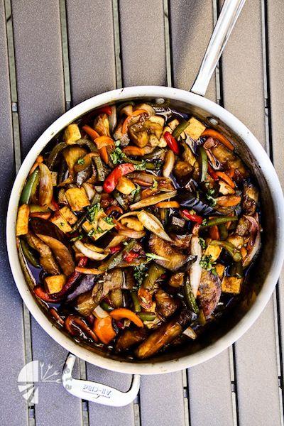 10 Best Eggplant Recipes | thai eggplant basil vegetarian