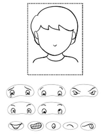 Twinkl Resources \u003e\u003e Blank Face Templates with Face Features