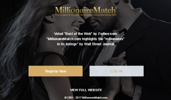 Millionairematch com login