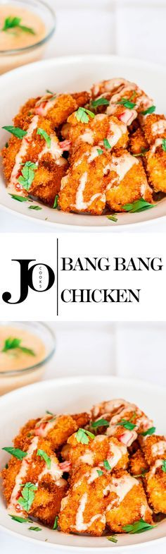 Bang Bang Chicken - From the Panko breading to the sweet chili mayo, this recipe…
