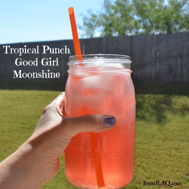 Looking for a delicious Trim Healthy Mama Fruit Punch GGMS? This THM inspired Tropical Punch Good Girl Moonshine recipe is sweet, fruity, and refreshing!