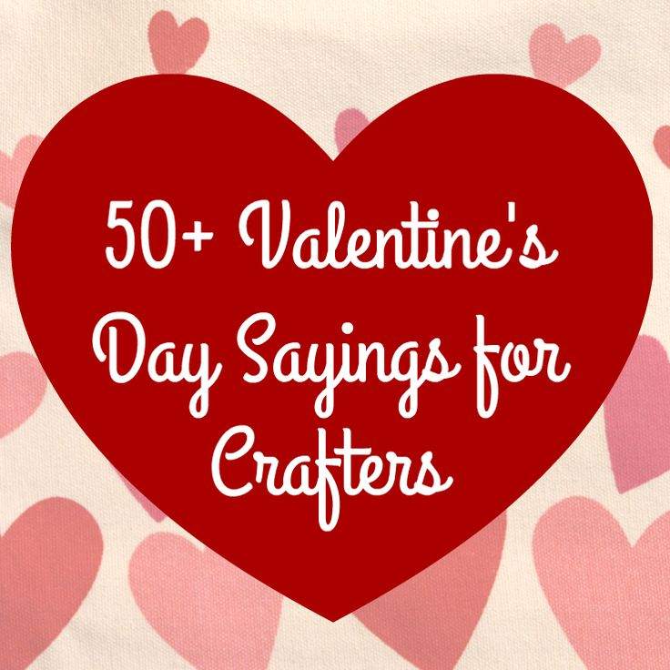 Inspiration for Valentine's Day craft projects with your Silhouette Cameo or Cricut.