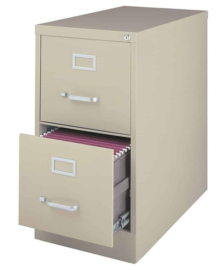 Lovely Lorell 16872 2 Drawer Mobile File Cabinet 18 Inch