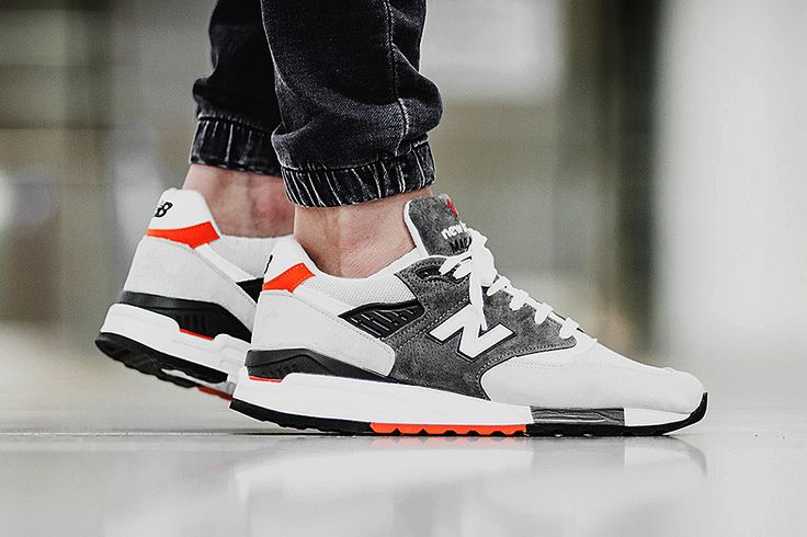 The New Balance 998CREA Pops with Orange Accents - EU Kicks: Sneaker Magazine || Follow @filetlondon for more street wear #filetlondon