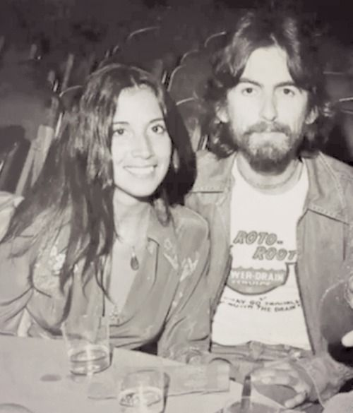 "dark-sweet-lady:  Interviewer:Was it love at first sight?    ""Pretty much. We felt it in our hearts from before we met. Even on the phone, we seemed to have some understanding, like you do when you meet the right person. And he was a charmer, such a charmer! ""- Olivia Harrison."