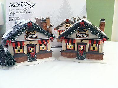 Dept 56 Harley Davidson Christmas Village