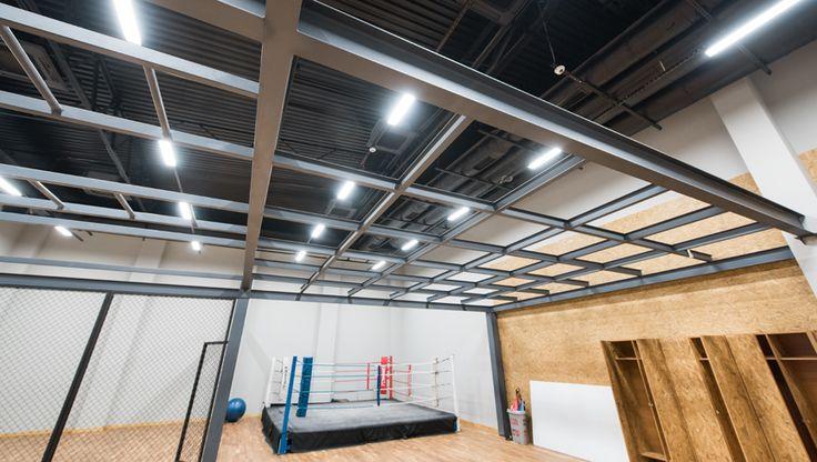 sala do sportów walki oświetlona ledami od HSK LEDY   martial arts room iluminated by HSK LEDY  #LED #ledlight #sports #light http://hskledy.com.pl/realizacje,1183,hala-sportowa-hotelu-scout.html