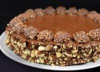 Κέικ με Ferrero Rocher - Lovecooking.gr