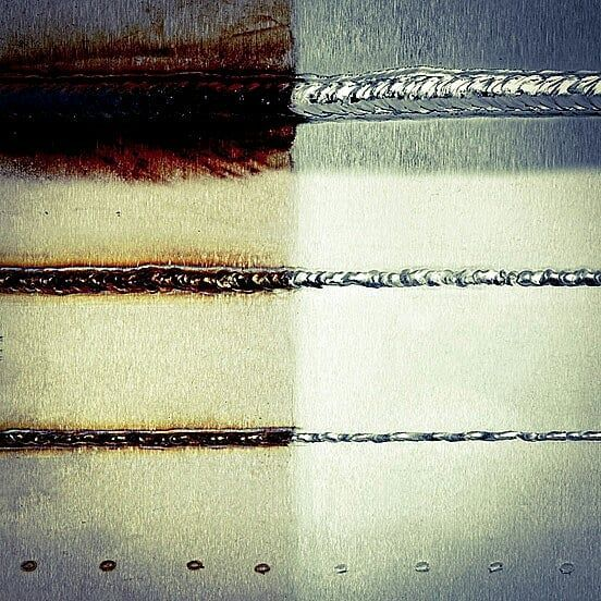 Perfect results on your stainless steel with Cougartron weld cleaning machines #cougartron #innovation #surface #treatment #experts #stainless #steel #welders #welding #aluminum #maintenance #results #perfect #finish