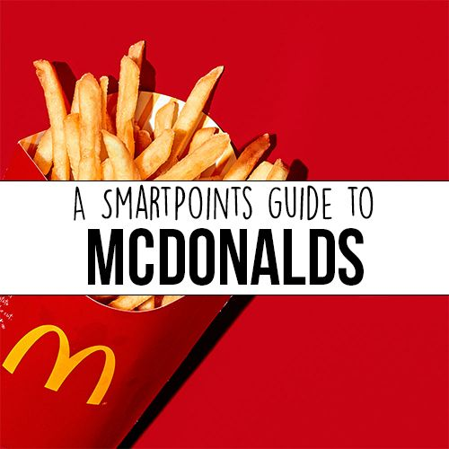 McDonald's Breakfast Menu Weight Watchers SmartPoints