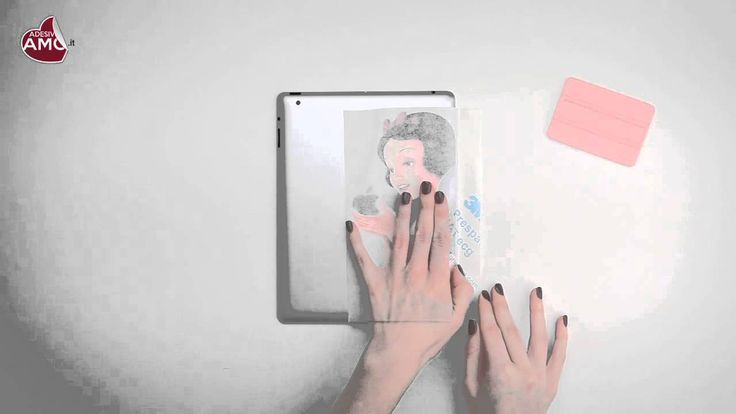 """Tutorial applicazione iPad Sticker """"Biancaneve"""" - Vinyl Decal - Prodotto..."""