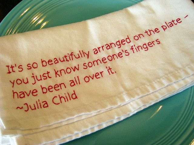 Quote Napkin by Sarah.WV, via Flickr