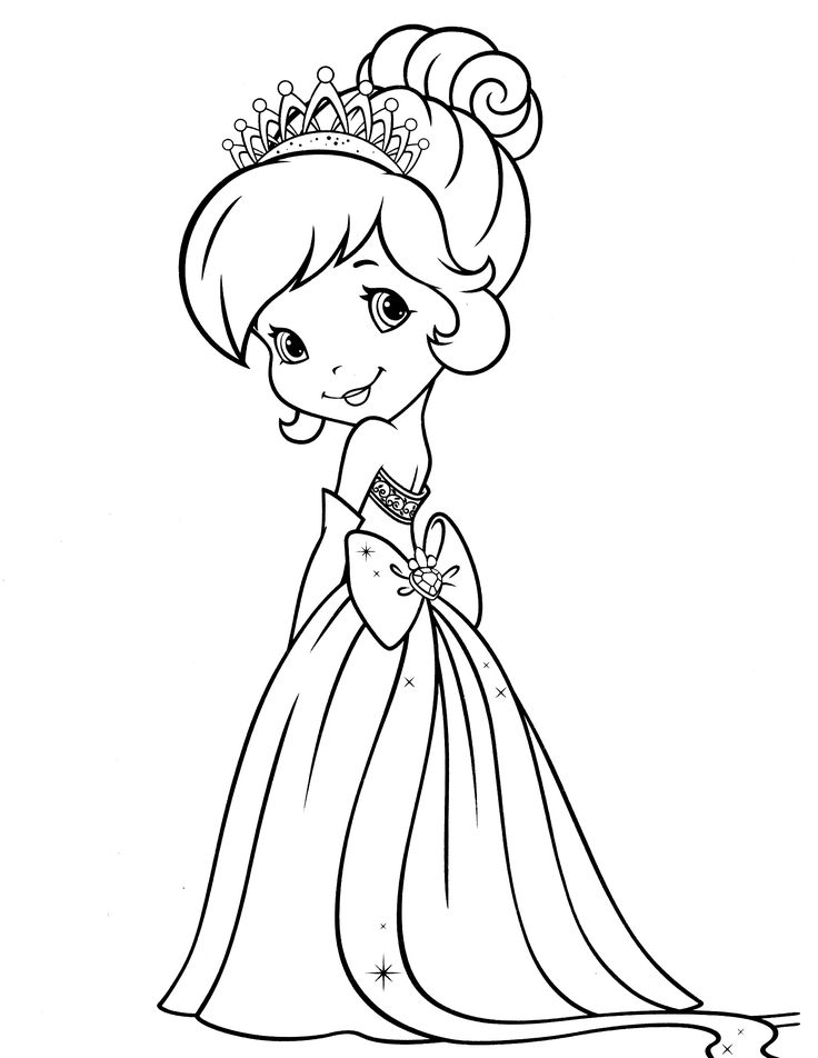 16 best Strawberry Shortcake Coloring Pages images on Pinterest ...